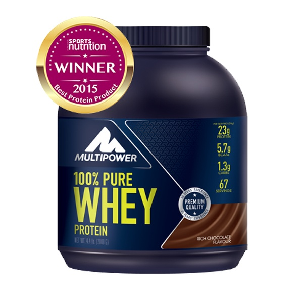 MULTIPOWER 100% PURE WHEY PROTEIN 2000g