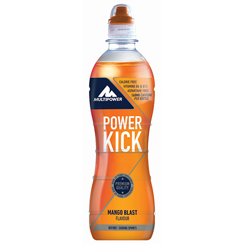 MULTIPOWER POWER KICK 500ml - hotový nápoj s guaranou a taurinem