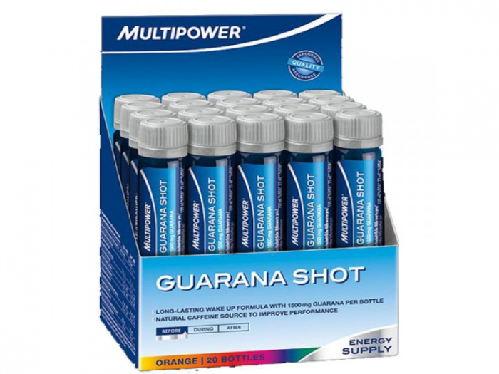 MULTIPOWER Guarana Shot 20 amp.