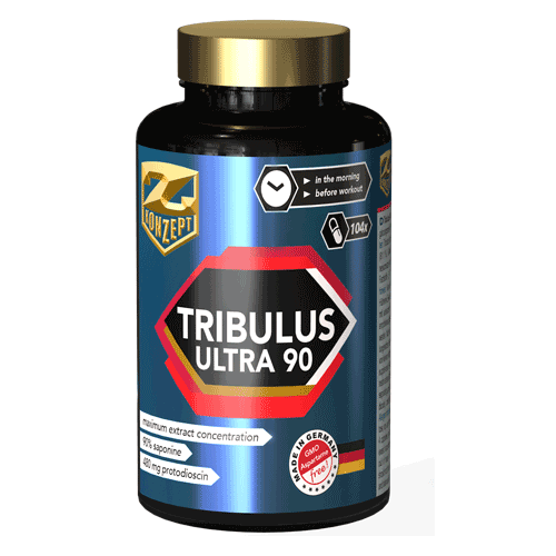 Z-KONZEPT NUTRITION TRIBULUS ULTRA 90% - 104 CAPS