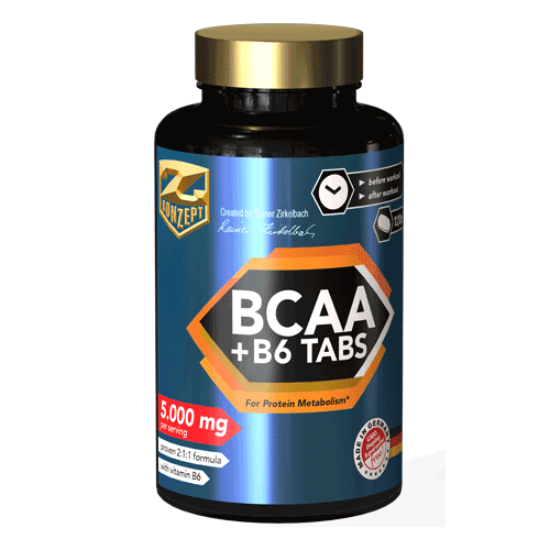 Z-KONZEPT NUTRITION BCAA + B6 120 tablet